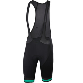 Sportful Bodyfit Team Classic Bibshorts Men Black/Bora Green